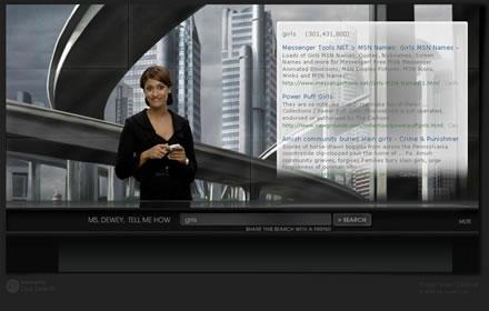 Ms Dewey - Microsoft' s Search Engine